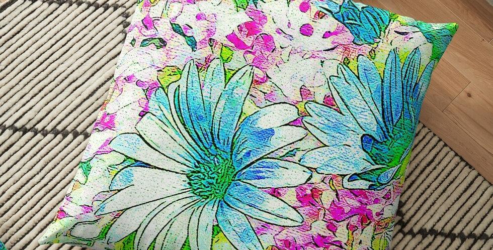 Dancing Daisies - Cushion Cover