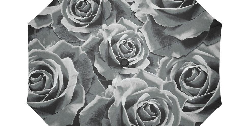 Gypsy Rose Silver Mist - Botanical Umbrella