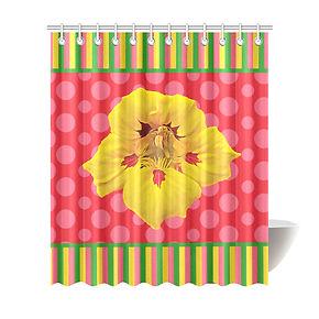 Poppy Pod Shower Curtain