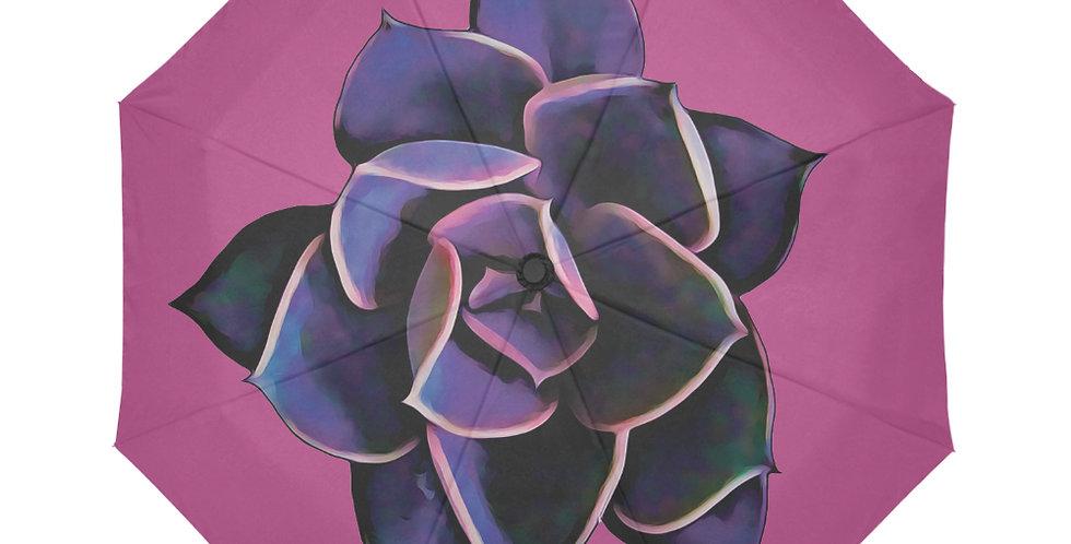 Pink Succulent - Botanical Umbrella