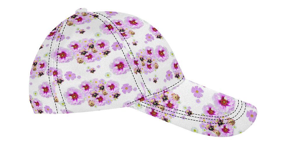 Candy Floss Floral - Baseball Cap