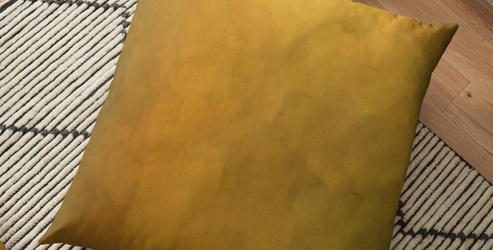Rainbow Iris - Waterwash Yellow - Cushion Cover