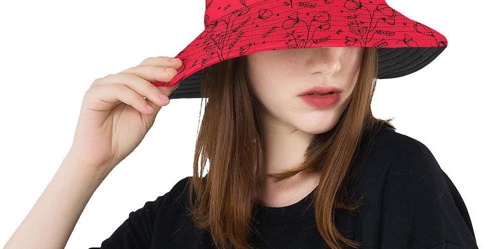 #sweetpealust Red & Black - Bucket Hat
