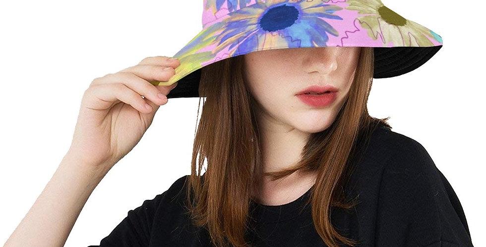 Wildflower Soft Pink - Bucket Hat
