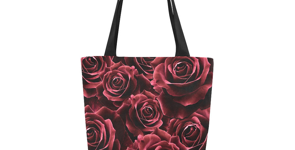 Velvet Roses Red - Tote Bag