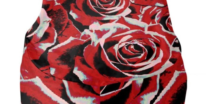 Gypsy Rose Passion - Bean Bag Cover