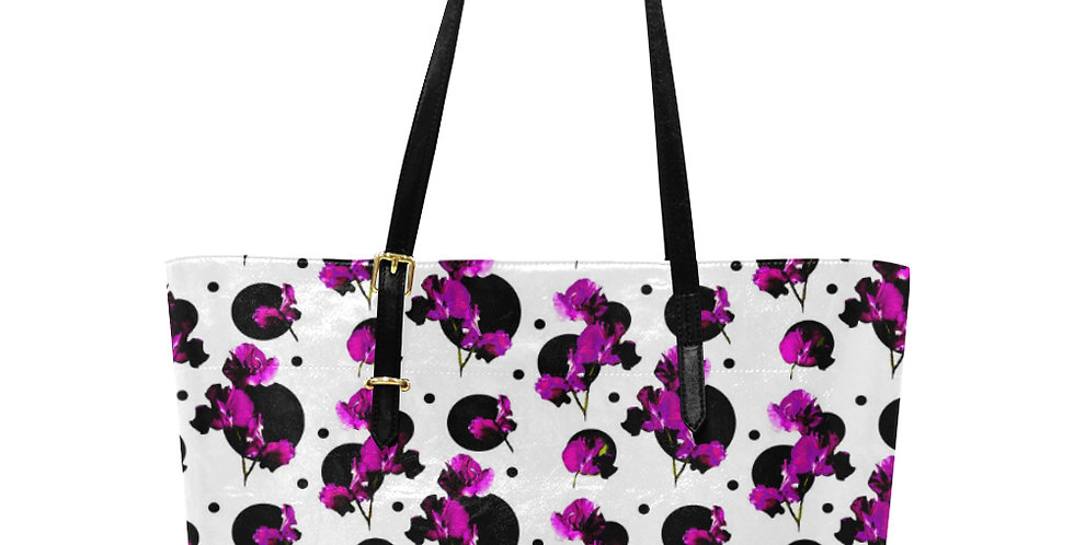 Sweet Pea Passion - Large Tote Bag
