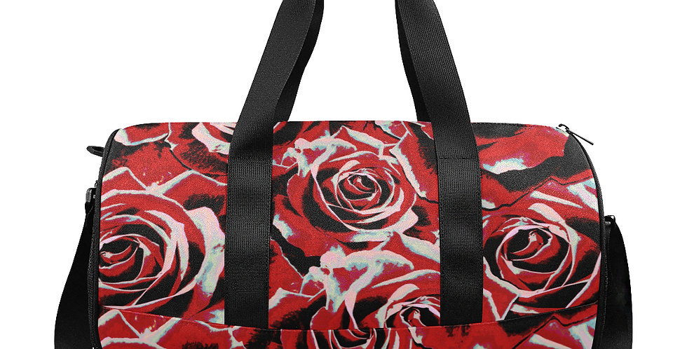 Gypsy Rose Passion - Gym / Workout / Camping / Travel Duffel Bag