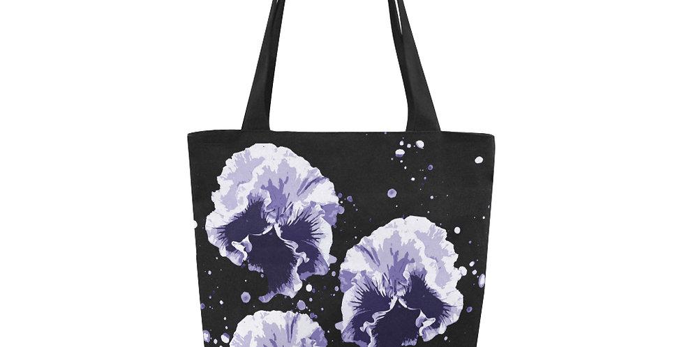 Pansy Moonbeams Blue - Tote Bag