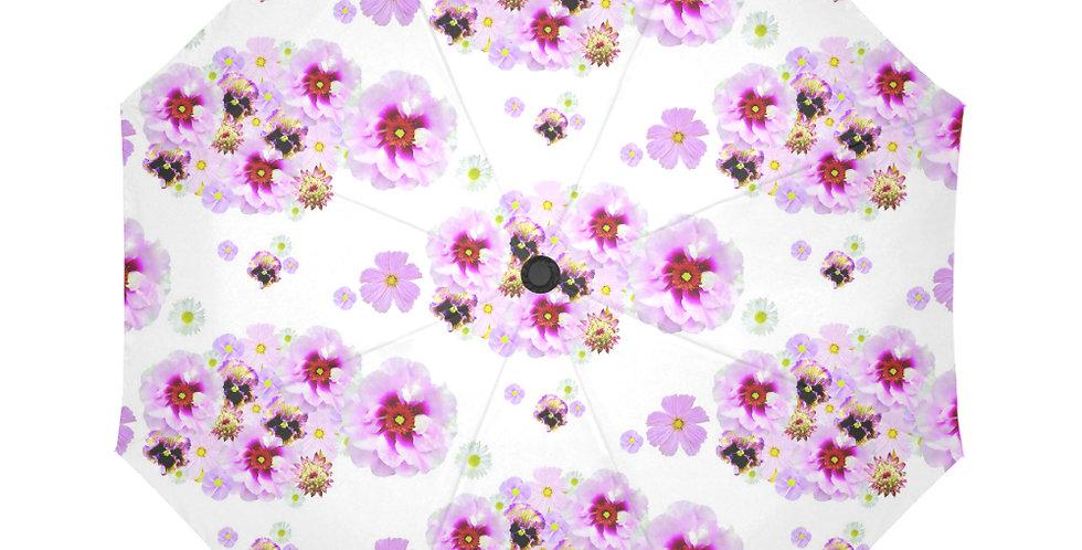 Cotton Candy Floral - Botanical Umbrella