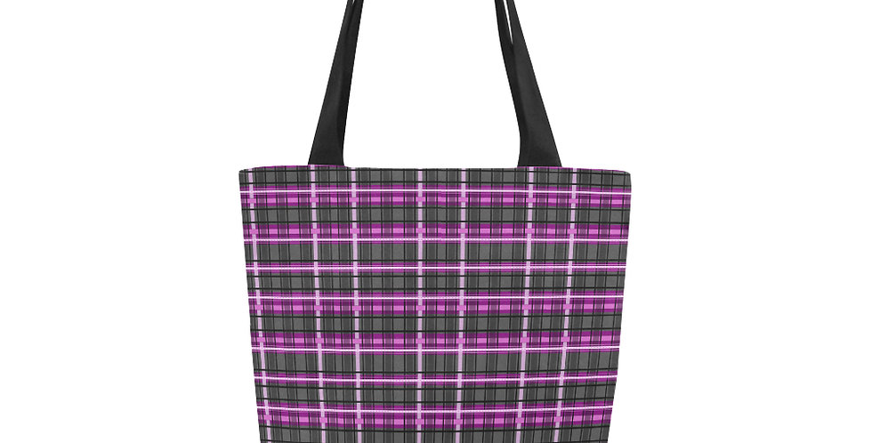 Mrs Rees Tartan - Tote Bag