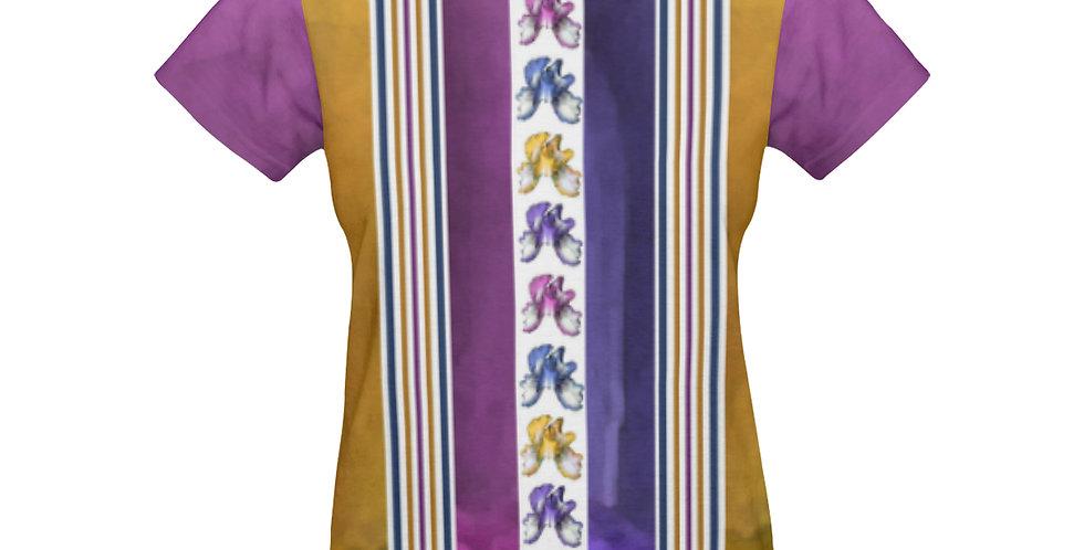 Rainbow Iris Stripes - T-shirt