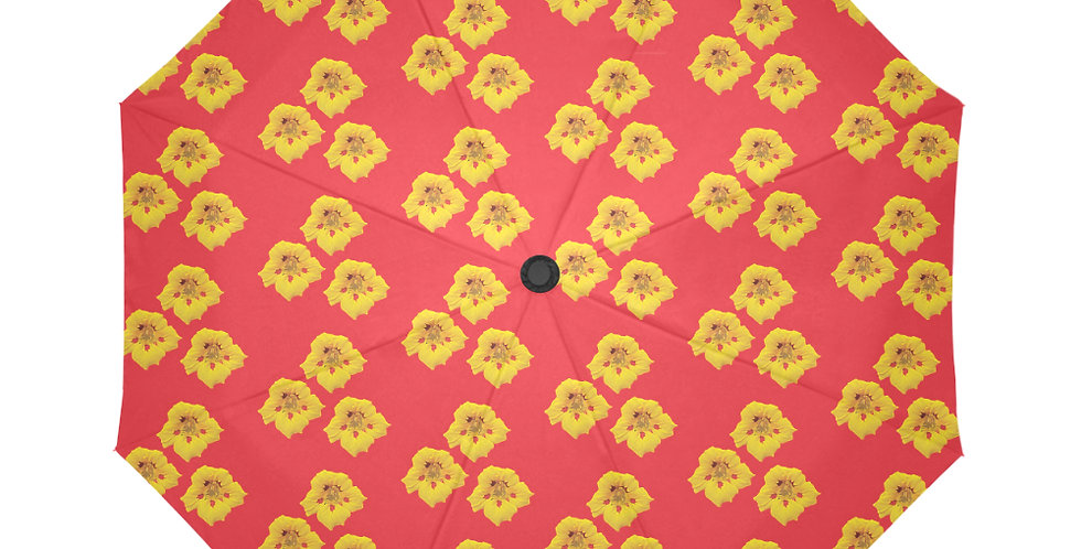 Ladybug Nasturtium (small print) - Botanical Umbrella