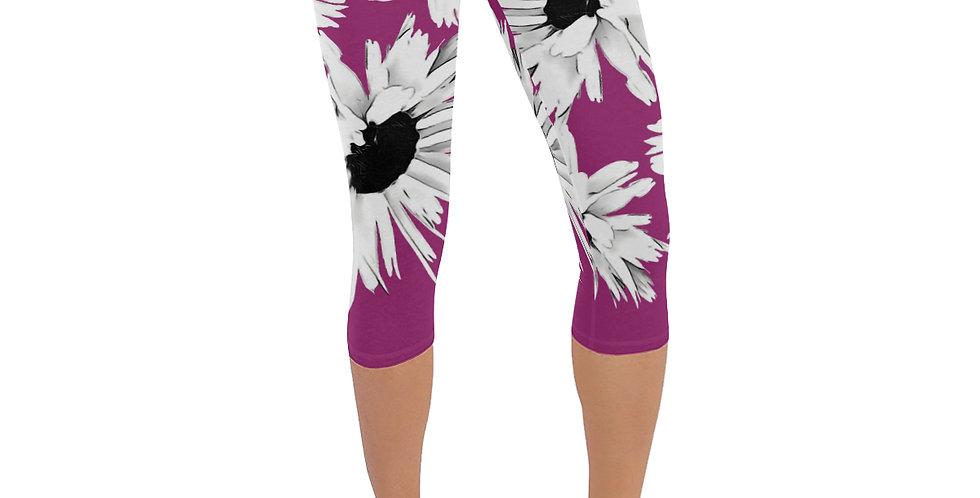 Daisy Love Pink - Leggings 3/4