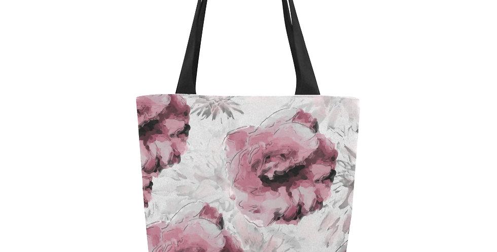 Roses and Dahlias - Tote Bag