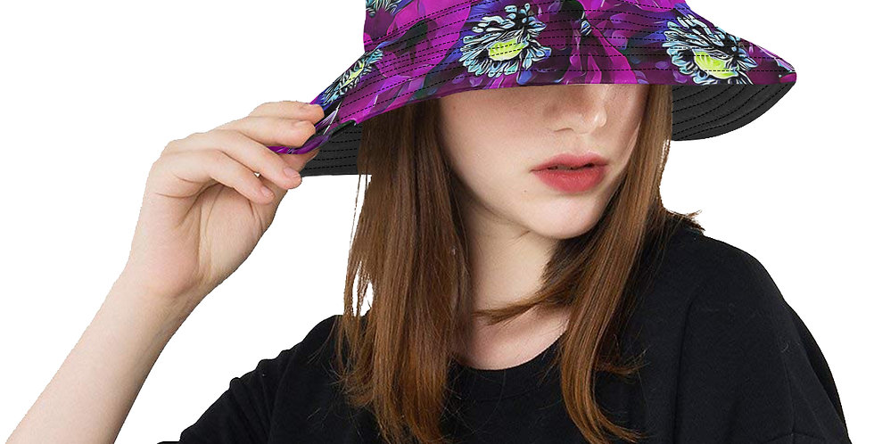 Meadow Poppies Spring - Bucket Hat