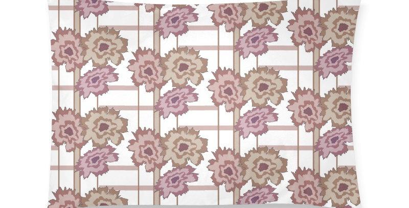 Flower Frenzy plum - Cushion Cover