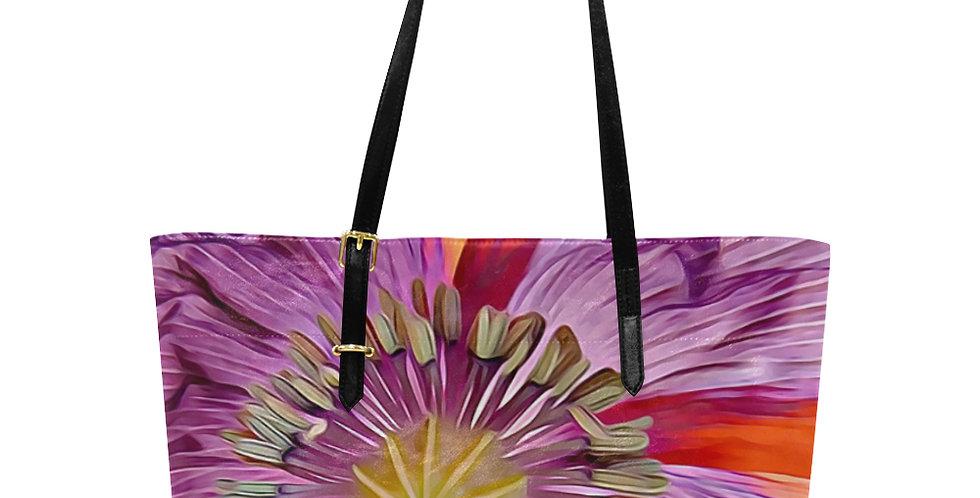 Poppy Drama - Large Tote Bag