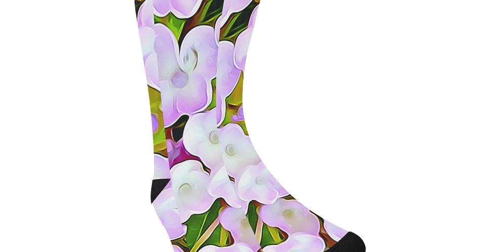 Hydrangea Confetti - Unisex Socks (Made in Australia)