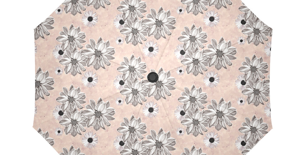 Floral Blush - Botanical Umbrella
