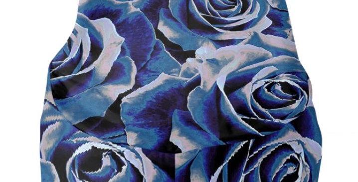 Gypsy Rose Persian Blue - Bean Bag Cover