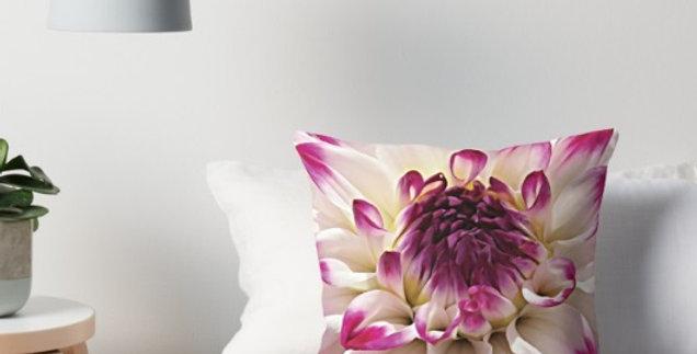 Dahlia Diligence - Cushion Cover