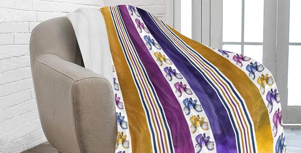 Rainbow Iris - Stripes - Blanket
