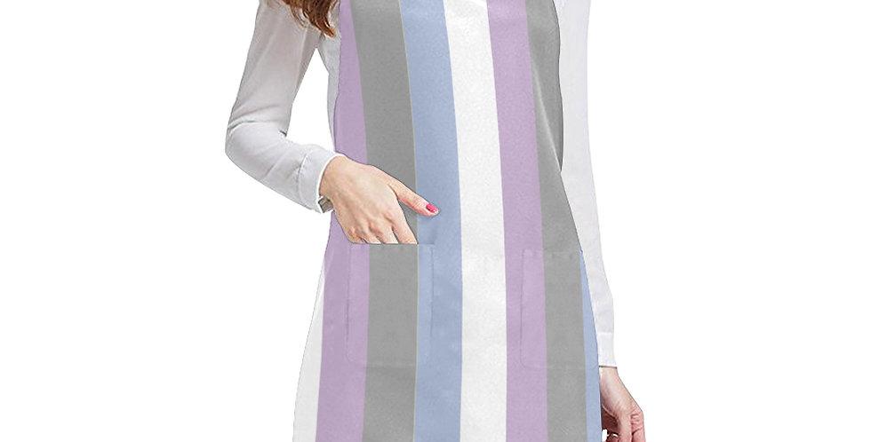 Gentle Stripes Apron - Adjustable