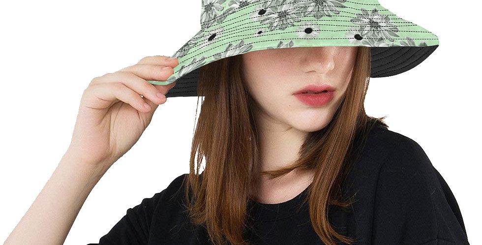 Floral Mint - Bucket Hat