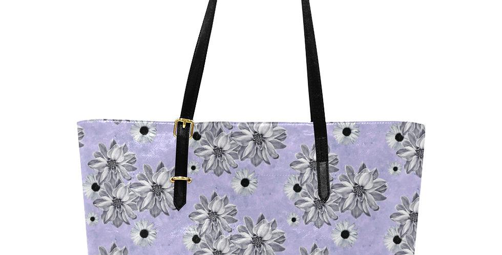Floral Mauve - Large Tote Bag