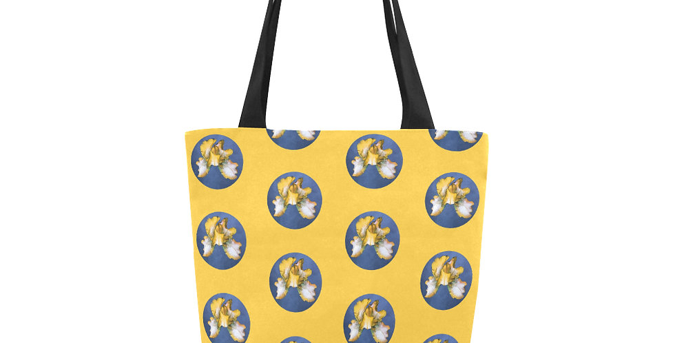 Rainbow Iris Yellow/Blue - Tote Bag