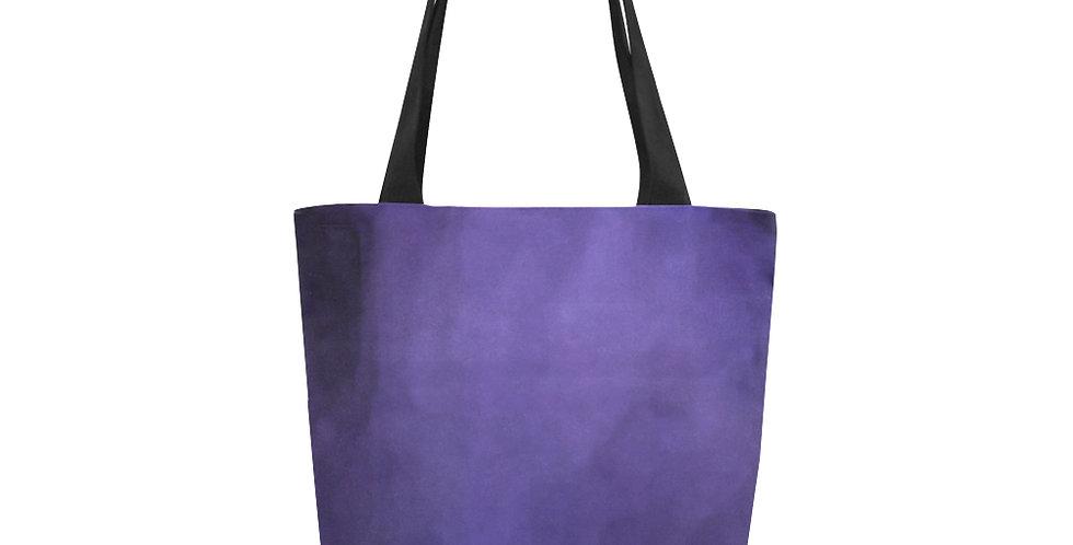 Rainbow Iris Washed Purple - Tote Bag