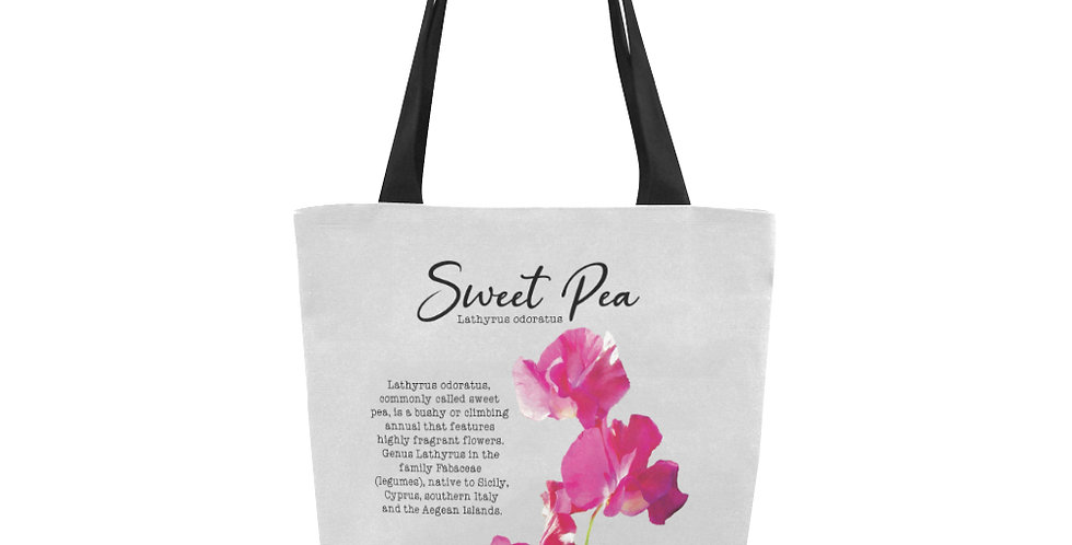Sweet Pea Botanical - Tote Bag