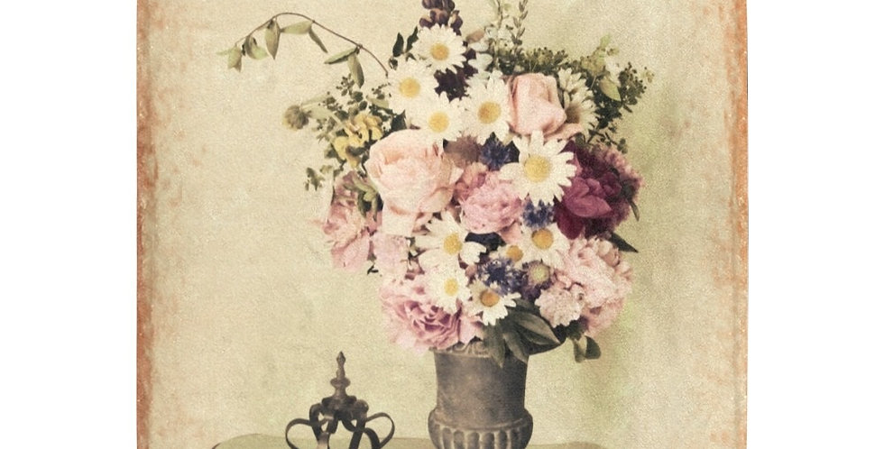 Antique Roses and Peonies - Blanket