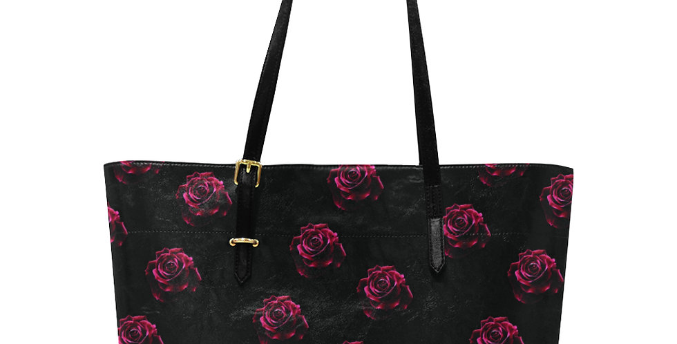 Red Red Roses - Large Tote Bag