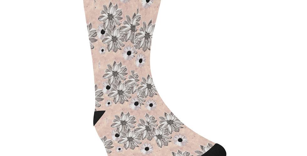 Floral Blush - Unisex Socks (Made in Australia)