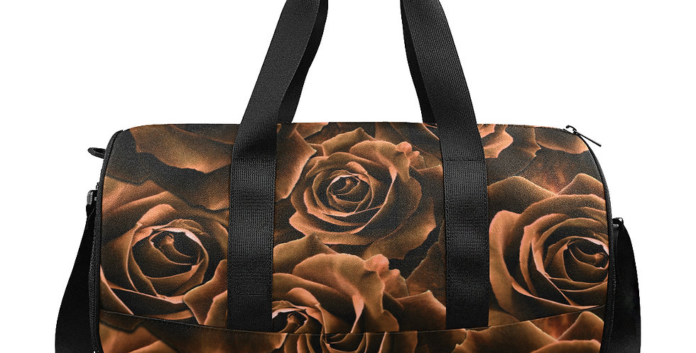 Velvet Roses Chocolate - Workout/Camping/Travel Duffel Bag