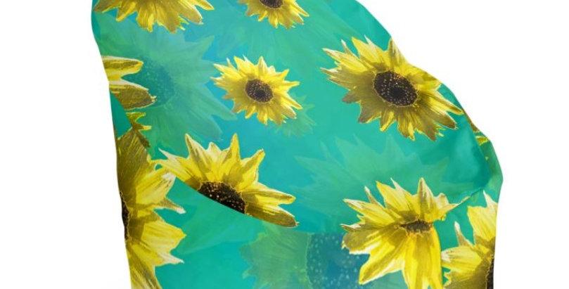 Sunflower - Bean Bag Cover