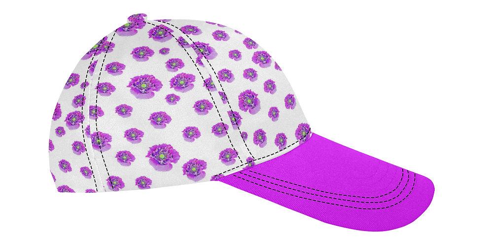 Pink Poppies - Baseball Cap
