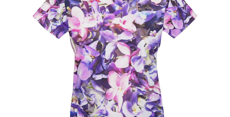 Wild Violets - T-Shirt