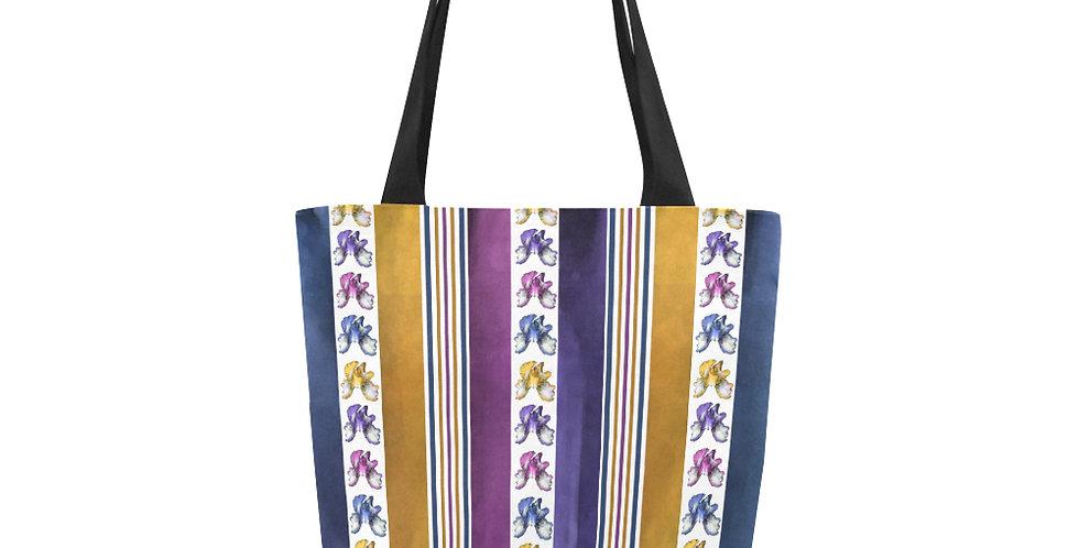 Rainbow Iris Stripes - Tote Bag