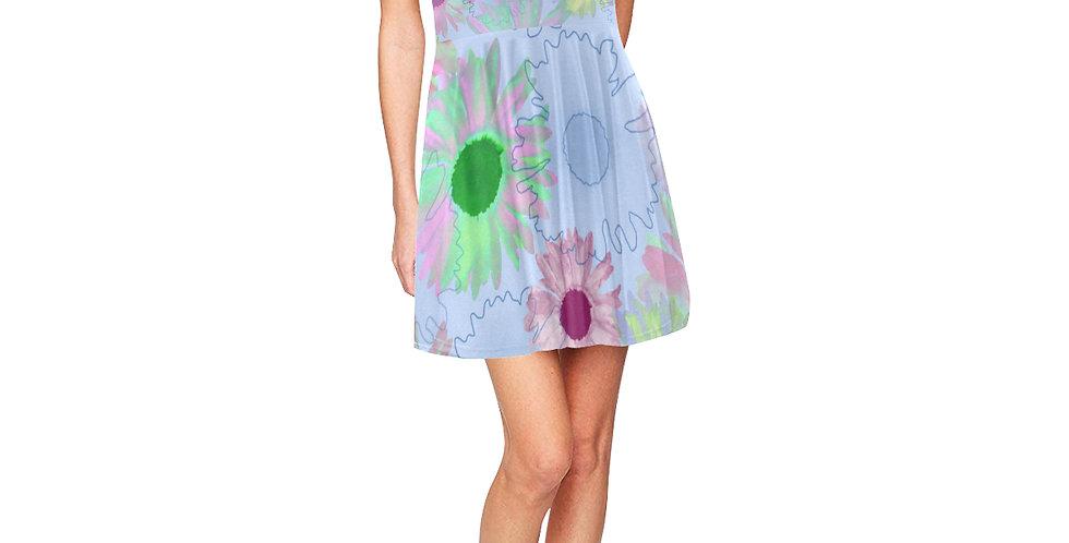 Wildflower Floral - Skater Dress