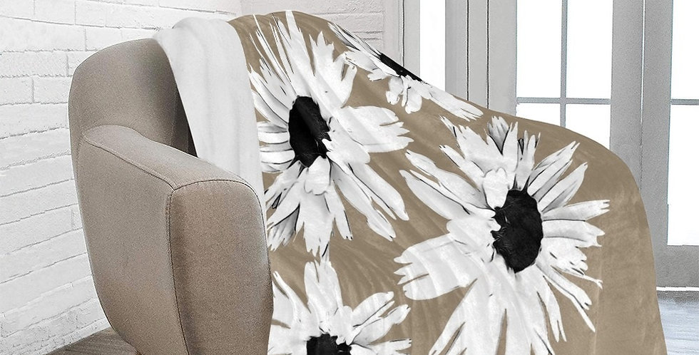 Daisy Love - Beige - Blanket