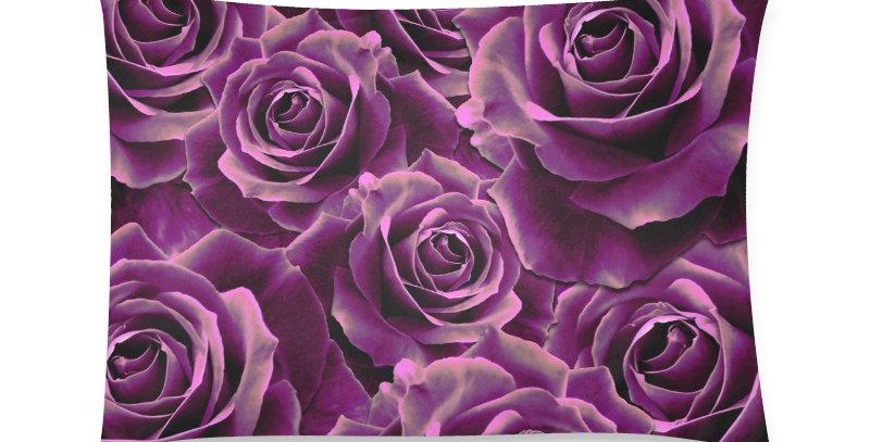 Velvet Roses Pink - Cushion Cover