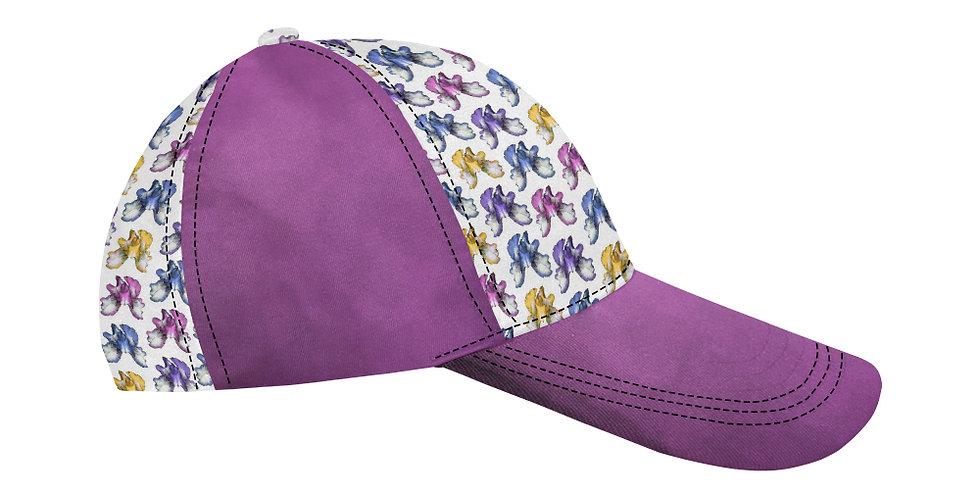 Rainbow Iris Pink - Baseball Cap