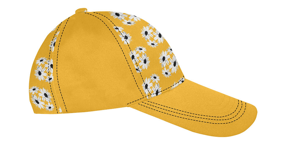 Bunch of Daisies Yellow - Baseball Cap