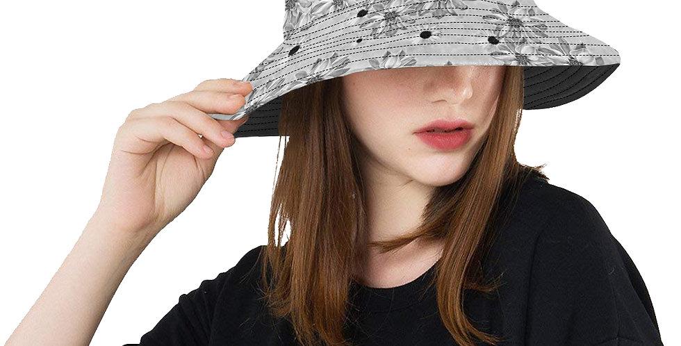Floral Grey - Bucket Hat