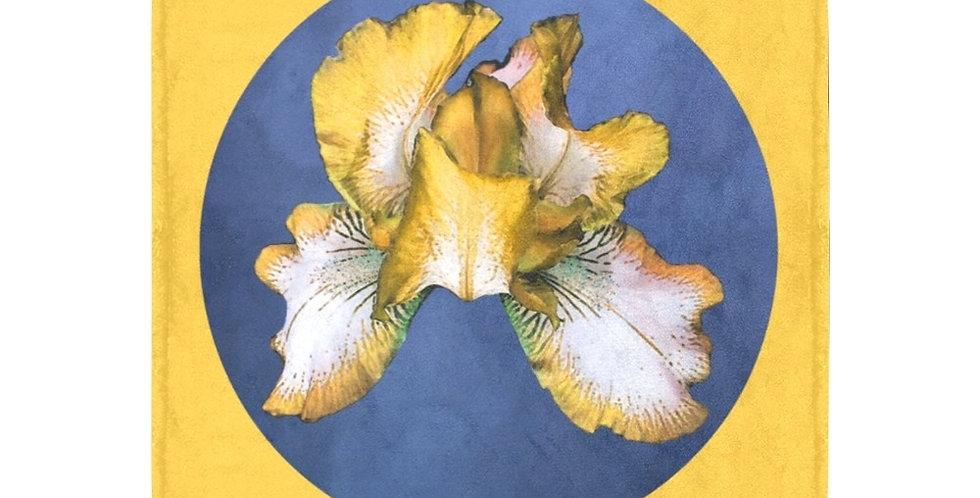 Rainbow Iris Yellow/Blue Dot - Blanket - Blanket