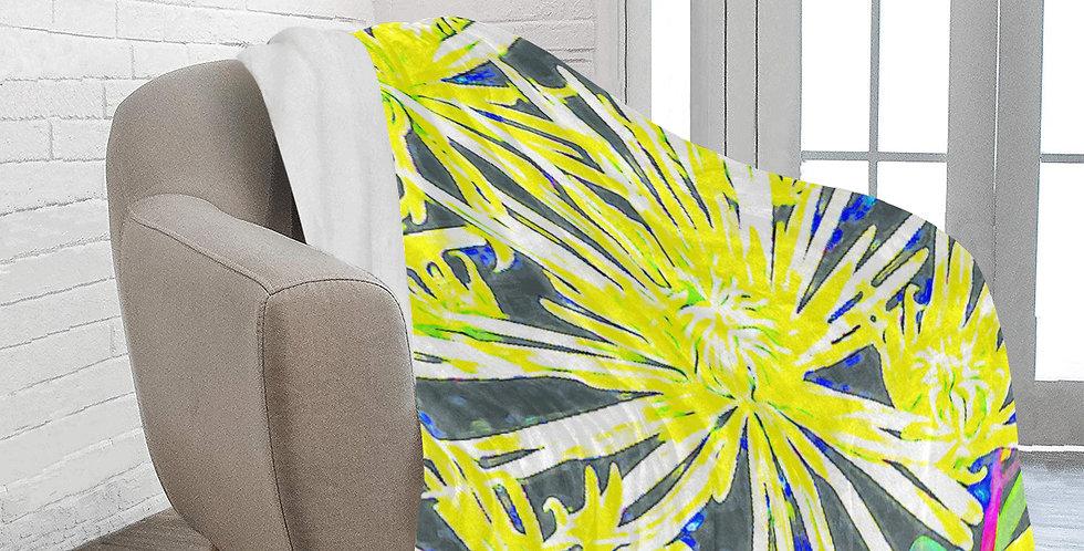 Yellow Chrysanthemums - Blanket