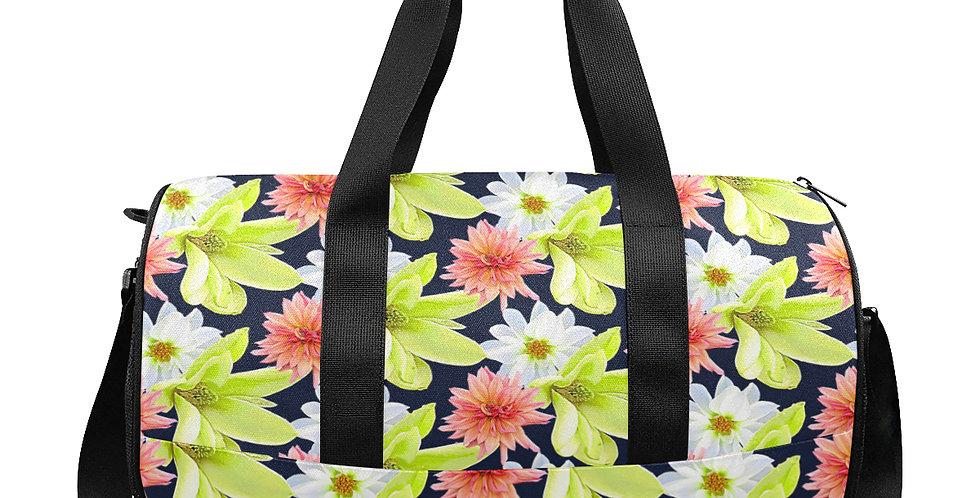 Magnolia Butterflies (small print) - Workout/Camping/Travel Duffel Bag